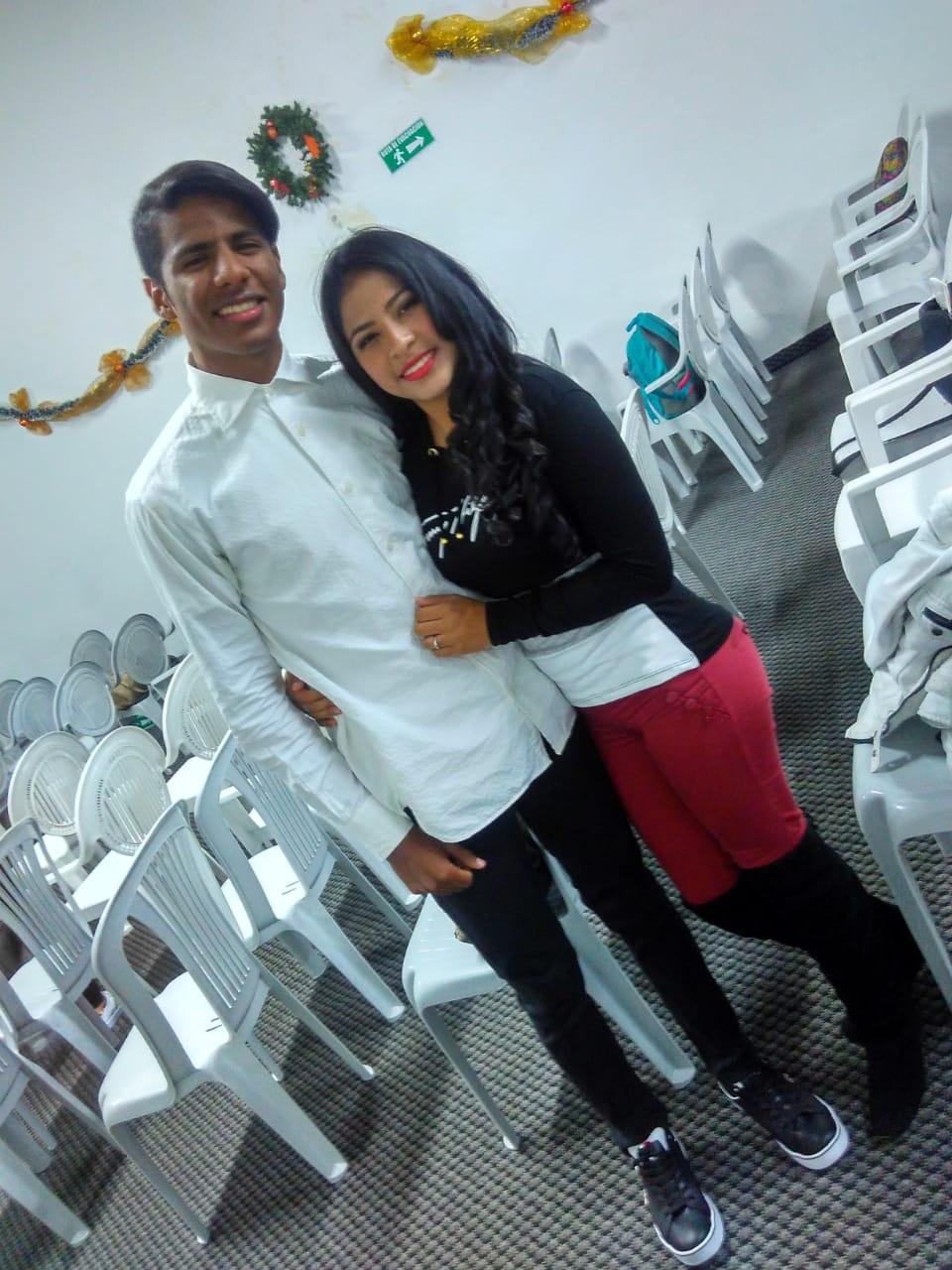Kalieb Gonzalez y Katherine Gonzalez